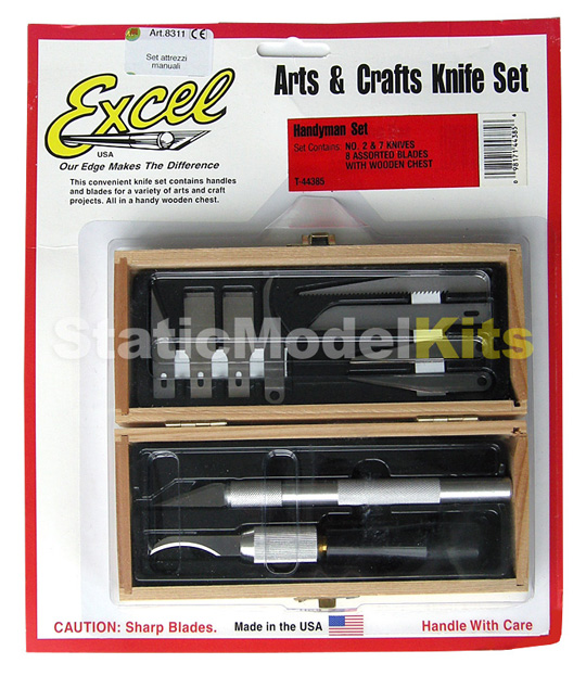 Arts and Crafts knife Set by Excel