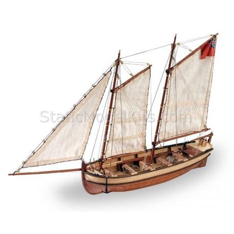 H.M.S. Endeavour's longboat 1:50