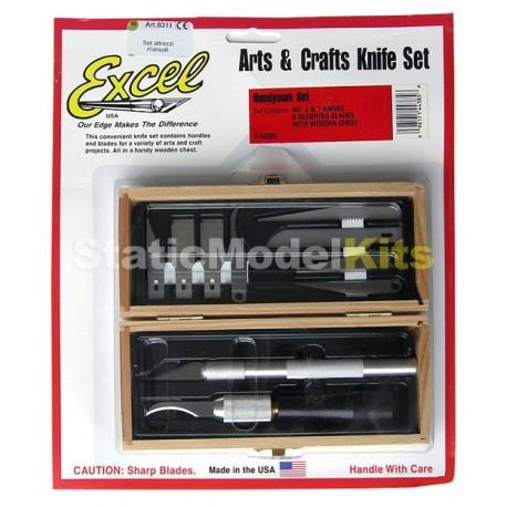 Arts & Crafts Knife Set