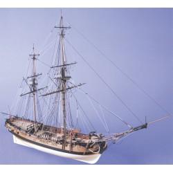 HM Bomb Vessel Granado 1756 1:64